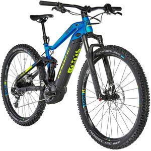 HAIBIKE SDURO FullNine 9.0 schwarz/blau/gelb matt bei fahrrad.de Online