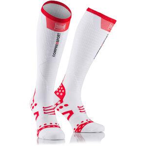 Compressport Ultralight Racing Full Socks white white