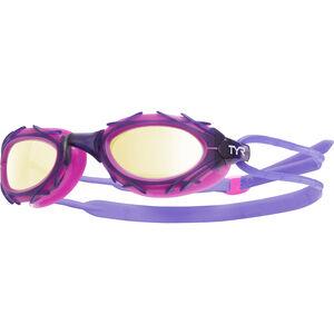 TYR Nest Pro Nano Goggles Metelized gold/purple gold/purple