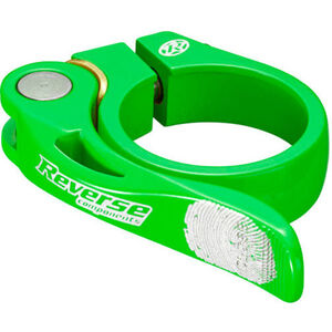 Reverse Long Life Sattelklemme 34,9mm neon grün neon grün