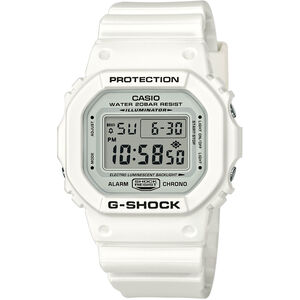 CASIO G-SHOCK DW-5600MW-7ER Watch Men white/white/black white/white/black