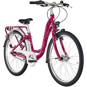 "Puky Skyride Light 24"" Fahrrad 7-Gang Mädchen berry berry"