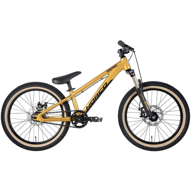 """Norco Bicycles Rampage 2 20"""" gold/black"""