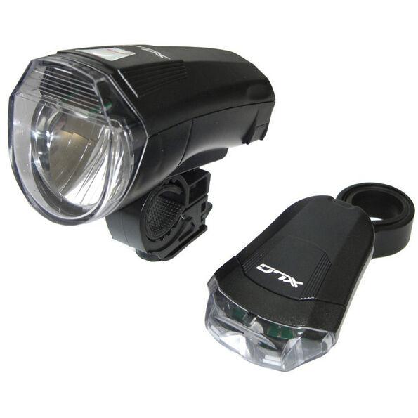 XLC CL-S14 LED Batterieleuchten Set StVZO