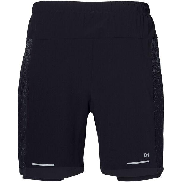 "asics 2-N-1 7"" Shorts Herren performance black/performance black"
