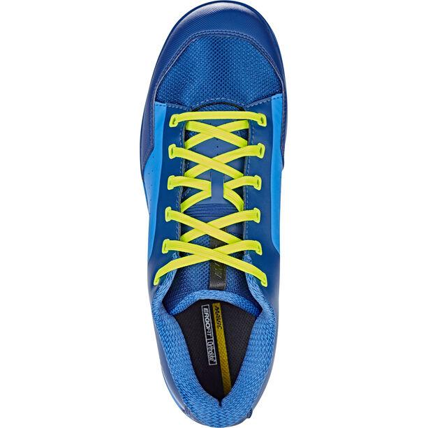 Mavic Deemax Elite Flat Mid Shoes poseidon/indigo
