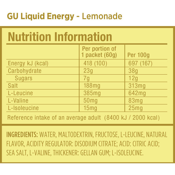 GU Energy Liquid Gel Testpaket 6x60g Gemischt