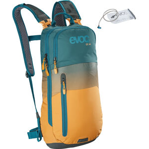 EVOC CC Lite Performance Backpack 6l + Bladder 2l petrol/loam petrol/loam