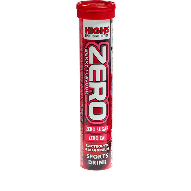 High5 Electrolyt Sports Drink Zero Tabs 20 Stück Red Fruits