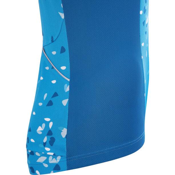 GORE WEAR C3 Petals Jersey Damen dynamic cyan/ciel blue