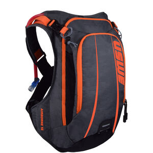 USWE Airborne 15 Rucksack grey/orange grey/orange