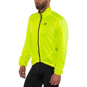 Alé Cycling Guscio Light Pack Jacket Men flou yellow bei fahrrad.de Online