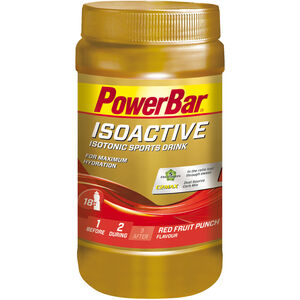 PowerBar Isoactive Isotonic Sports Drink Dose 600g Rote Früchte Punch
