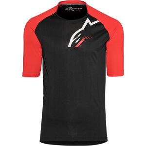 Alpinestars Trailstar Shortsleeve Jersey Herren black/red black/red