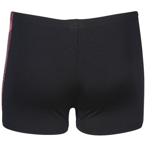 arena Feather Shorts Jungen black /fluo red