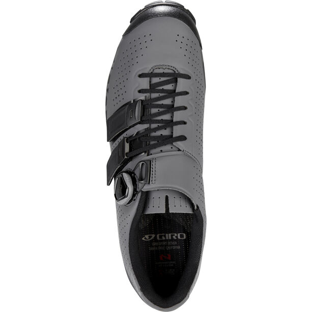 Giro Code Techlace Shoes Herren dark shadow/black