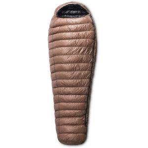 Yeti Passion Five Sleeping Bag XL brown/black