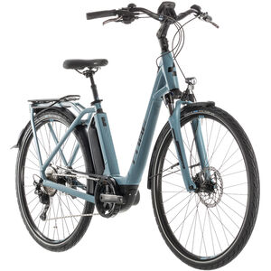 Cube Town Sport Hybrid Pro 400 Easy Entry blue