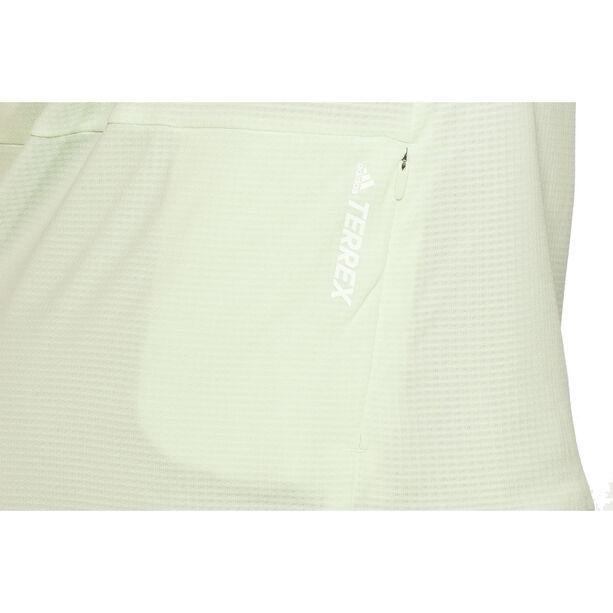 adidas TERREX Climachill Crew Tee Damen aero green