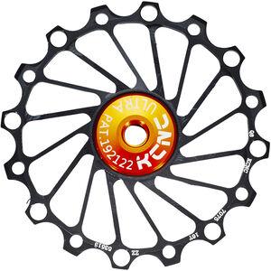 KCNC Jockey Wheel SS Bearing Narrow Wide 16 Zähne black black