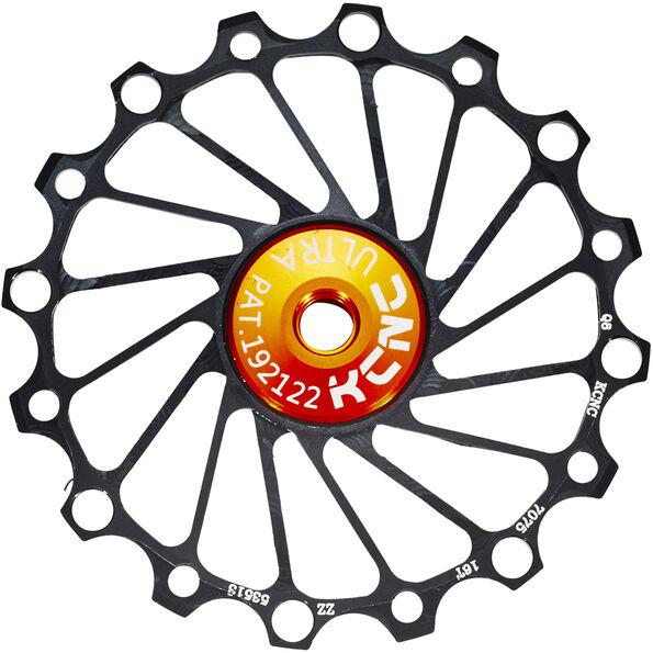 KCNC Jockey Wheel SS Bearing Narrow Wide 16 Zähne
