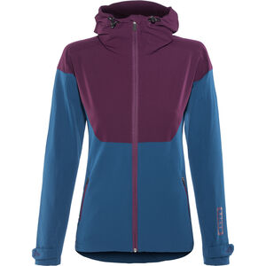 ION Shelter Softshell Jacket Women ocean blue
