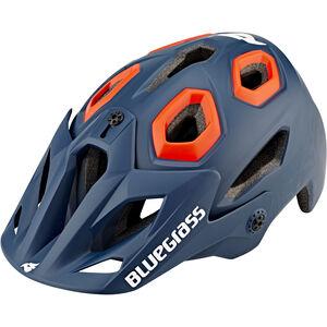 bluegrass Golden Eyes All Mountain Helm petrol blue/orange