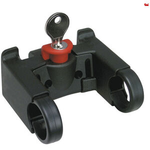 KlickFix Lenkeradapter mit Schloss schwarz schwarz