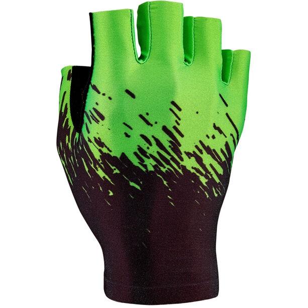 Supacaz SupaG Kurzfinger-Handschuhe black/neon green