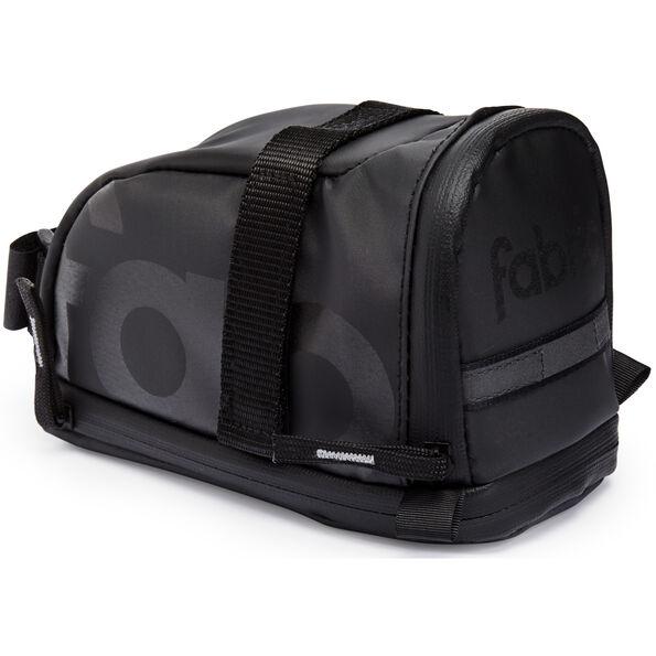 Fabric Contain Saddle Bag L