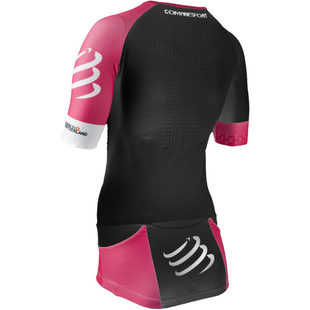 Compressport TR3 Aero Triathlon Top Damen black