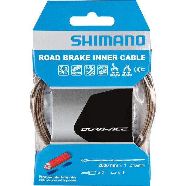 Shimano Dura-Ace BC-9000 Bremszug Polymer beschichtet grau