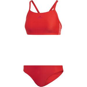 adidas Fit 3-Stripes Infinitex Bikini Damen active red