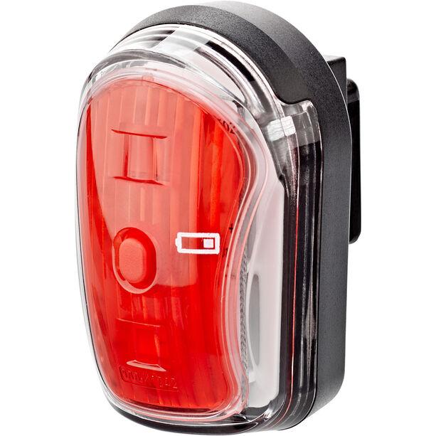 Litecco Cando USB USB Rückleuchte schwarz/rot