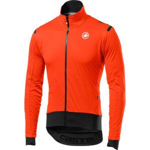 Castelli Alpha Ros Light Jacket Herren orange/black orange/black