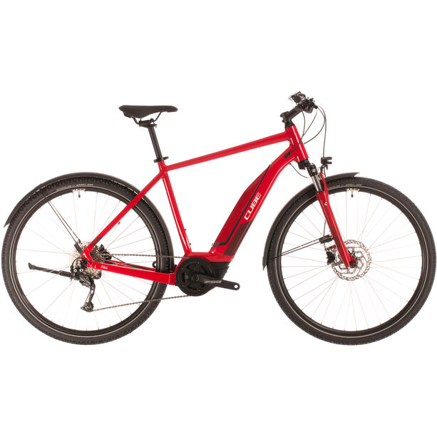 Cube Nature Hybrid One 400 Allroad red/red
