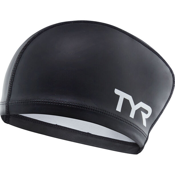 TYR Comfort Long Hair Silicone Cap Kinder black