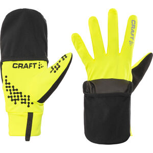 Craft Hybrid Weather Gloves flumino/black flumino/black