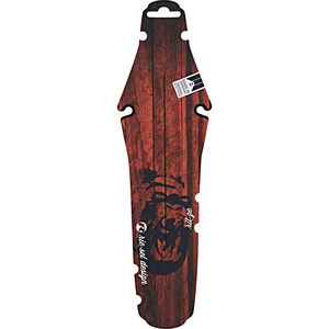 "rie:sel design rit:ze Back Fender Saddle 26"" - 29"" red wood gorilla red wood gorilla"