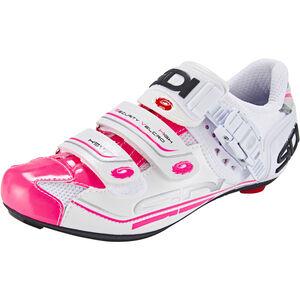 Sidi Genius 7 Shoes Damen white/pink fluo white/pink fluo
