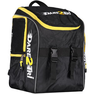 Dare2Tri Transition Backpack 13l black/yellow black/yellow