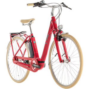Cube Elly Cruise Hybrid 400 Easy Entry Red'n'Mint bei fahrrad.de Online