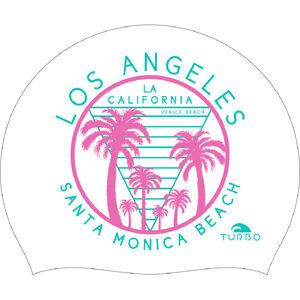 Turbo Santa Monica Beach Swimming Cap White bei fahrrad.de Online