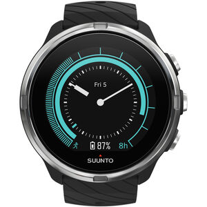 Suunto 9 G1 GPS Sportuhr mit Lederband black black