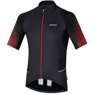 Shimano Mirror Cool Jersey Men Black/Red bei fahrrad.de Online