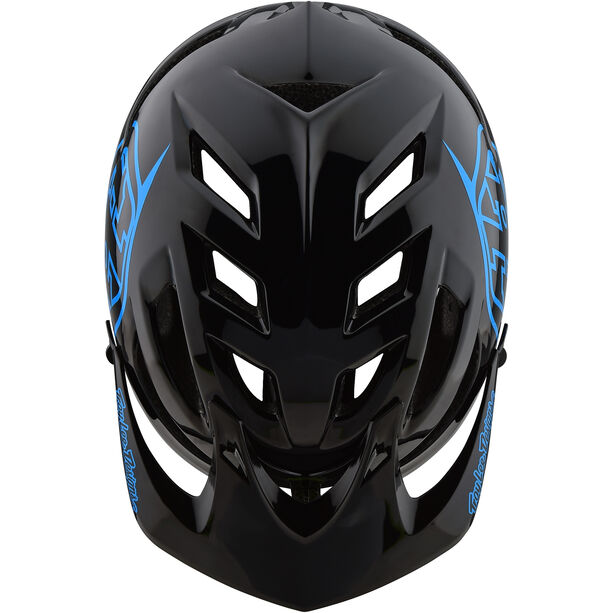 Troy Lee Designs A1 Drone Helmet Kinder black/blue