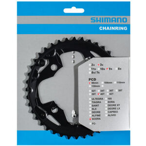 Shimano Acera FC-M3000 Kettenblatt 9-fach AX schwarz bei fahrrad.de Online