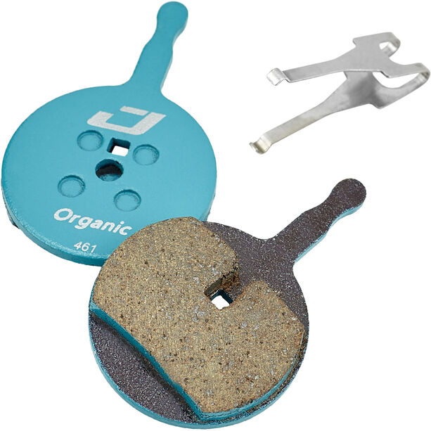 Jagwire Sport Organic Bremsbeläge für Avid BB5/Promax/Render/Decipher 1 Paar blau