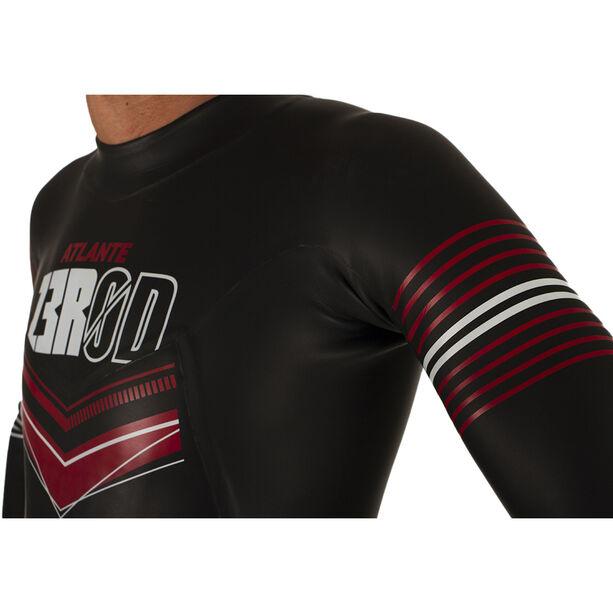 Z3R0D Atlante Wetsuit Herren black/red