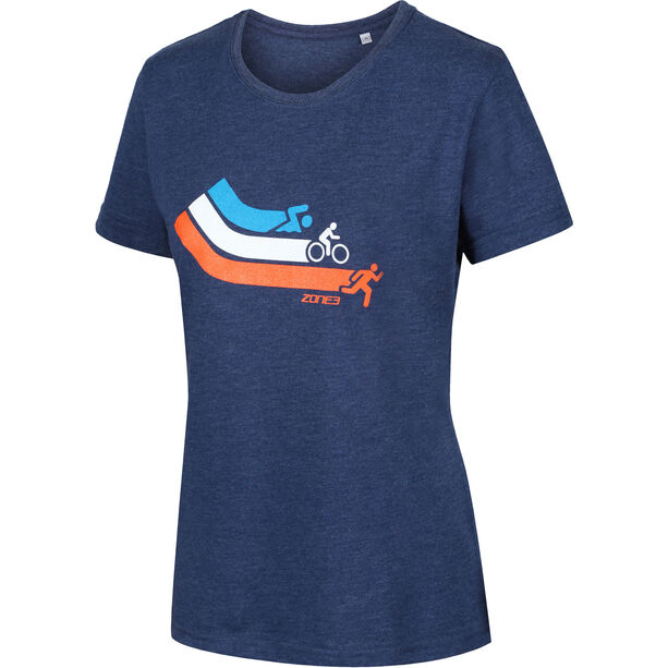 Zone3 Graphic T-Shirt Damen swim/cycle/run